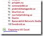 exportera till excel php