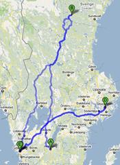 snabbaste vägen mellan jönköping och göteborg
