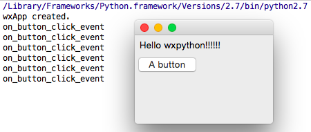 how to make a gui application in python