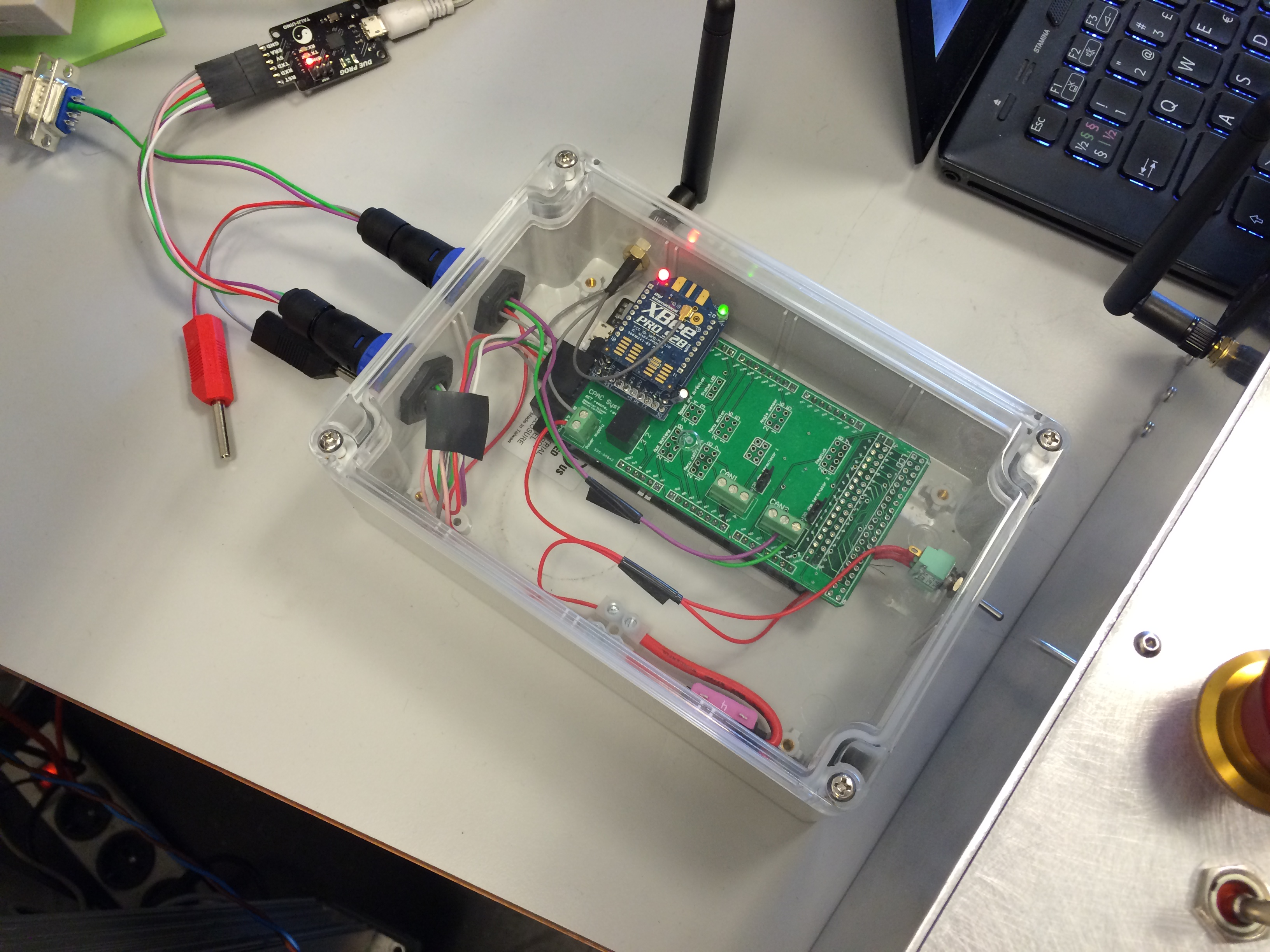Master thesis microcontroller